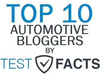 Top 10 Automotive Bloggers by Test Facts